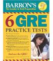 کتاب آزمون جی آر ای Barron's 6 GRE Practice Tests