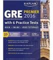 کتاب آزمون جی آر ای Kaplan GRE Premier 2016