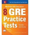 کتاب جی آر ای McGraw-Hill Education 8 GRE Practice Tests 3rd Edition