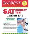 کتاب اس ای تی Barron's SAT Subject Test Chemistry 12th Edition