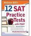 کتاب اس ای تی McGraw-Hill's 12 SAT Practice Tests