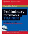 کتاب آزمون پی ای تی Cambridge English Preliminary for Schools Trainer