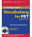 کتاب آزمون پی ای تی Cambridge Vocabulary for PET