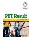 کتاب پی ای تی PET Result Teacher's Pack